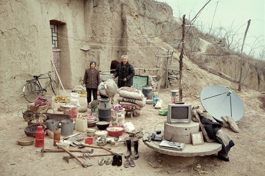 Huang Qingjun, portraits, rural china, everything they own, technology, isolation, china, Art, gallery
