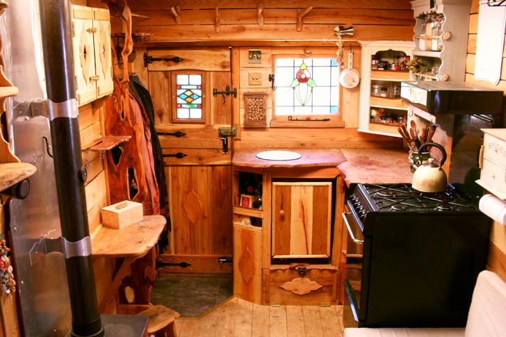Welsh Couple Transforms Old Vans Into Rustic Campers With