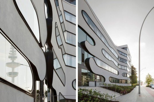 Schlump One, J. Mayer H. Architects, Hamburg, Germany, green renovation