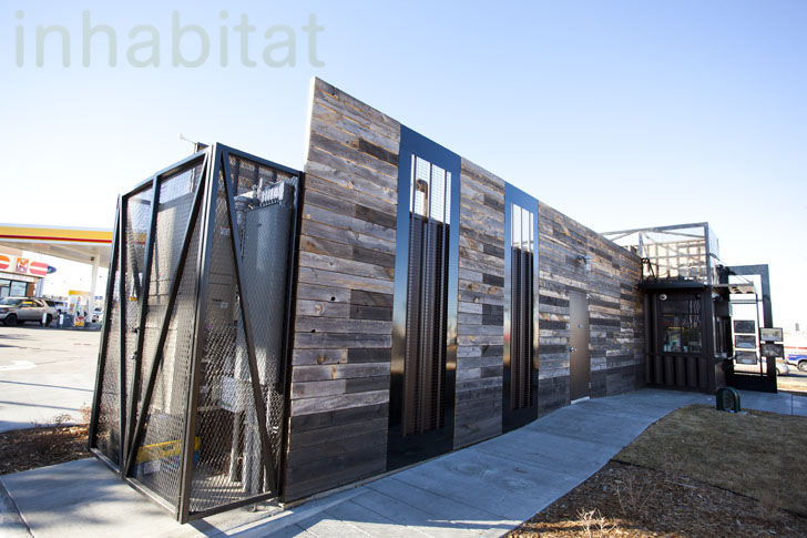 Starbucks Opens Drive Thru Made From Recycled Shipping Containers In Northglenn CO
