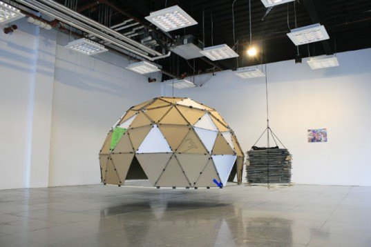 Steven Morgana, How Much Does Your Building Weigh?, recycled materials, reused materials, green design, sustainable design, geodesic dome