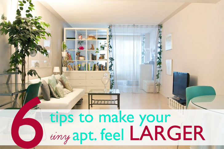 6 Clever Tips To Make Your Tiny Apartment Feel Larger | Inhabitat   Green  Design, Innovation, Architecture, Green Building Part 86