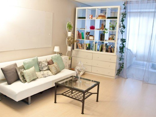 Living Room Colors For Small Spaces 6 clever tips to make your tiny apartment feel larger | inhabitat