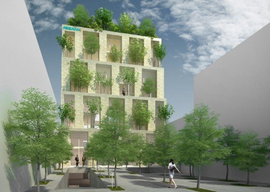 Trees Building, Vo Trong Nghia, Vietnam, vertical forest, Danang