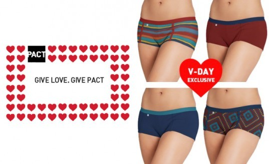 pact underwear, green underwear, sustainable underwear, sustainable skivvies, eco-gifts, valentine's gifts, green valentine's presents, eco presents, valentine's day, sustainable gifts valentine's day, valentine's day 2013, green gift guide