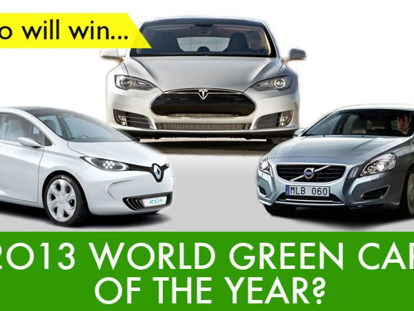 New York International Auto Show, Green Car of the Year, Green Car, Tesla Model S, Volvo V60 Hybrid, Renault Zoe