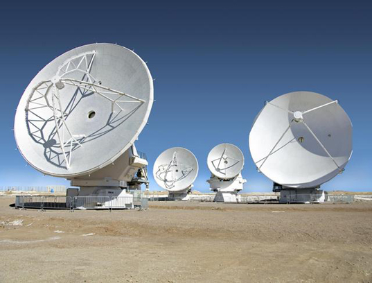 ALMA telescope array, ALMA observatory, Atacama desert observatory, space research, space observing technology, Chile telescopes, space exploration