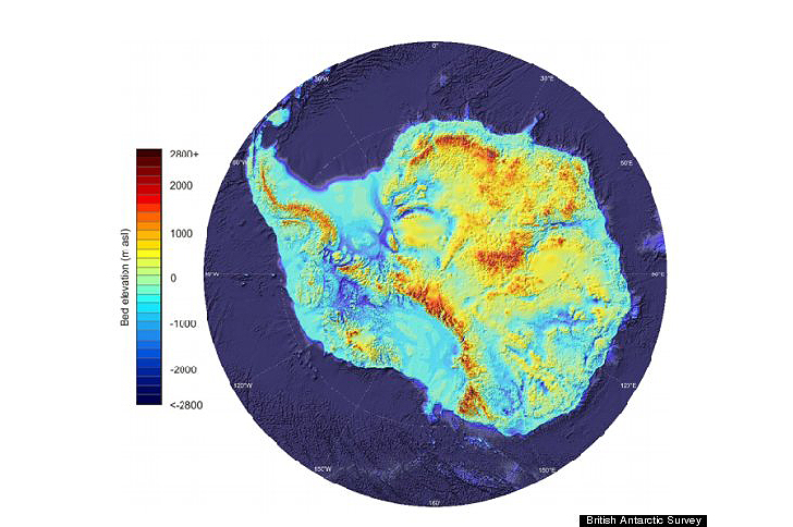 British Bedmap2 Study Reveals Antarctica Beneath the Ice Inhabitat