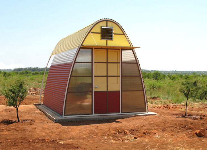 Tiny Abod Shelters Provide Humane Housing For Slum