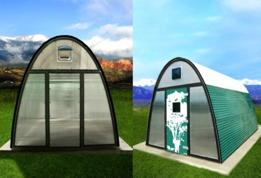 Adob Shelters, slum dwellers, poverty, green design, sustainable design, prefab design, tiny houses, South Africa, BSB Design, natural light, humanitarian design, social design, eco-design, Johannesburg, informal housing, cheap housing, Doug Sharp