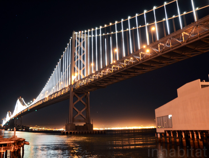 The Bay Lights Unveiled World S Largest Light Sculpture