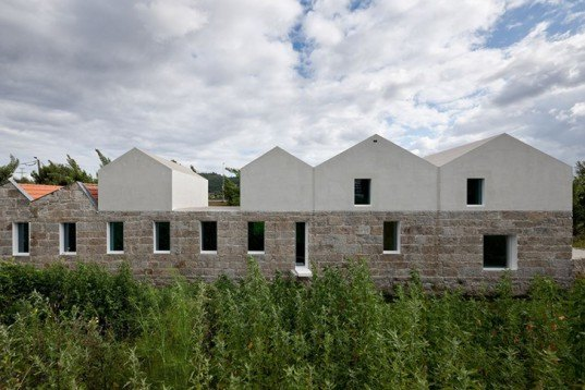Cannata & Fernandes architects, The Landscape Laboratory, natural light, local stone, portugal, Guimarães, restoration, Architecture, Green renovation