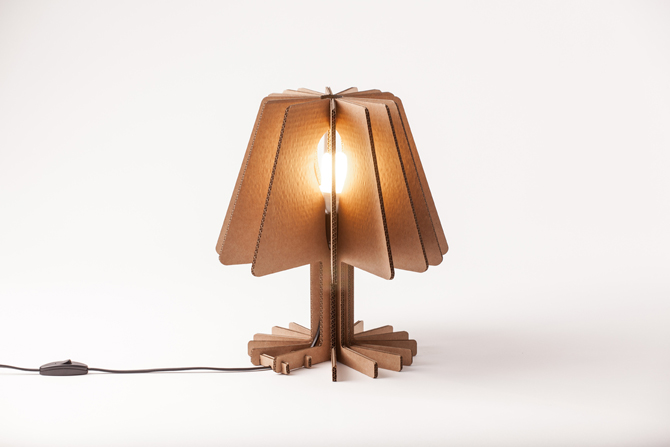 Vicara Gives The Traditional Lamp A Facelift Using Recycled