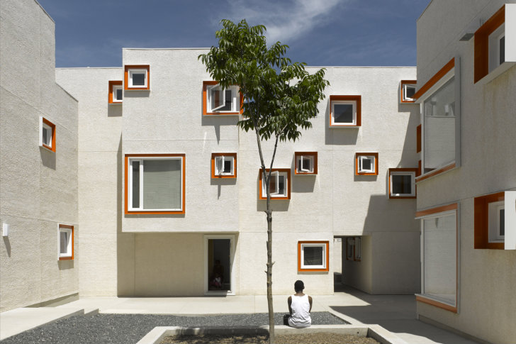 Centre village is a modular affordable micro housing complex in winnipeg canada inhabitat - Affordable social housing ...