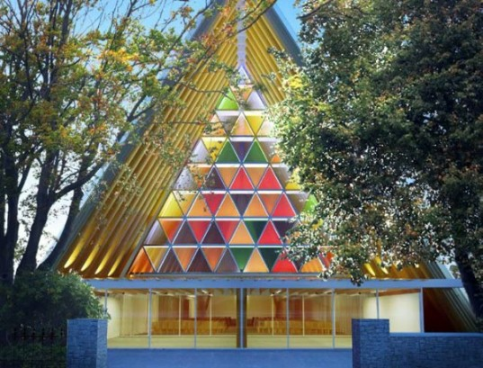 Cardboard Cathedral New Zealand, Shigeru Ban temporary structures, temporary buildings, cardboard architecture, sustainable buildings, eco-friendly building material, sustainable materials, cardboard tubes