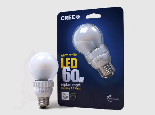 Bulb Efficient Led Incandescent Lighting Energy Cree Light OTuXPZki