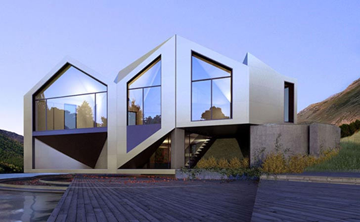 D haus to launch a kickstarter campaign to prototype the d table and the d dynamic inhabitat - Shape shifting house ...