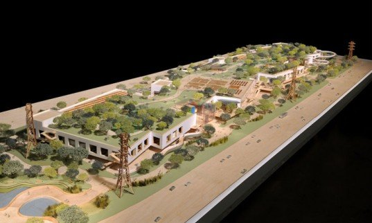 green design, eco design, sustainable design, Facebook, Frank Gehry, Gehry Facebook Headquarters, Forested Roof