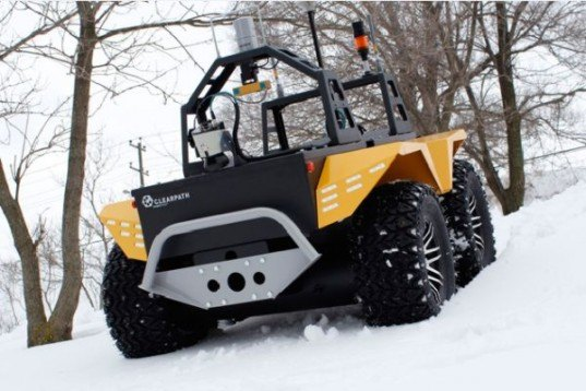 Grizzly Electric Vehicle, Clearpath Robotics, ev, sustainable transportation, green transportation, electric vehicle, green car, robotic vehicle, sustainable design, green design, green technology, electric 4x4, electric four-wheeler