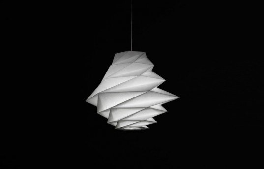 IN-EI by Issey Miyake for Artemide, IN-EI , Issey Miyake, Artemide recyled plastic bottle lights, led lamps, led lights, recycled plastic lamps, green lighting