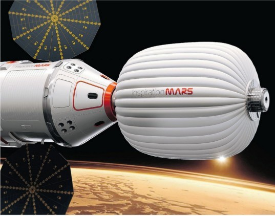 Inspiration mars, mars mission, radiation, cosmic rays, spacecraft, human waste, space poo, astronaut poo, astronauts, radiation shield