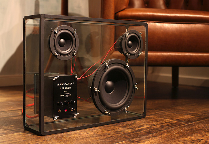 People People's Transparent Speaker is a Crowdfunded DIY Megahit ...