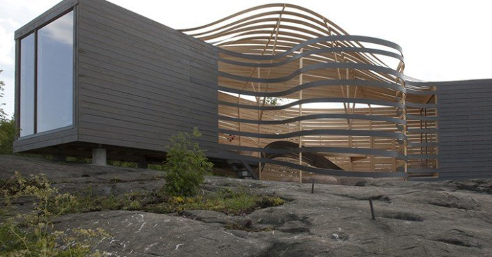 Flowing wisa wooden design hotel provides fascinating Wisa wooden design hotel