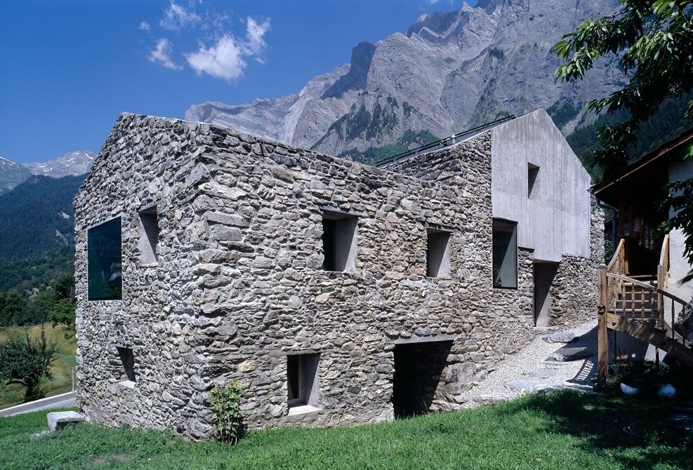 1814 Stone Home is Restored Achieving Swiss Minergie Standards ...