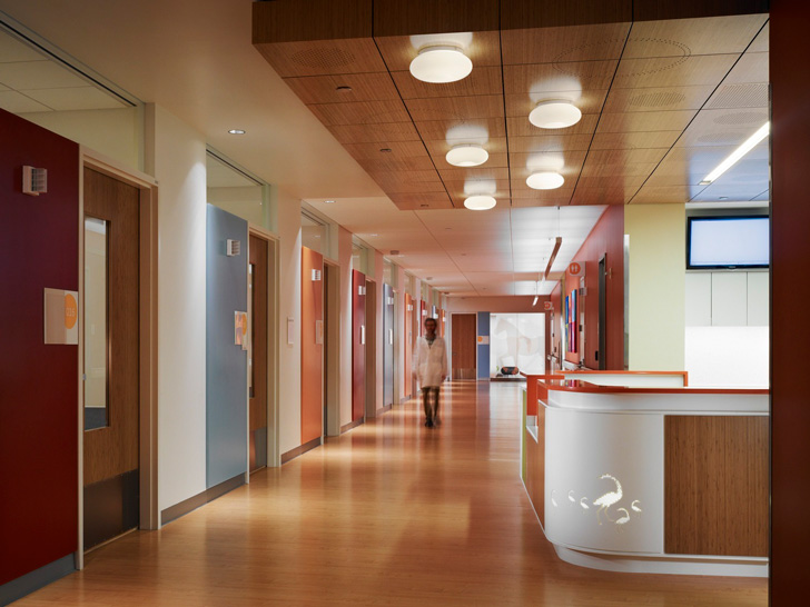 Randall Children S Hospital Designed By Zgf Architects