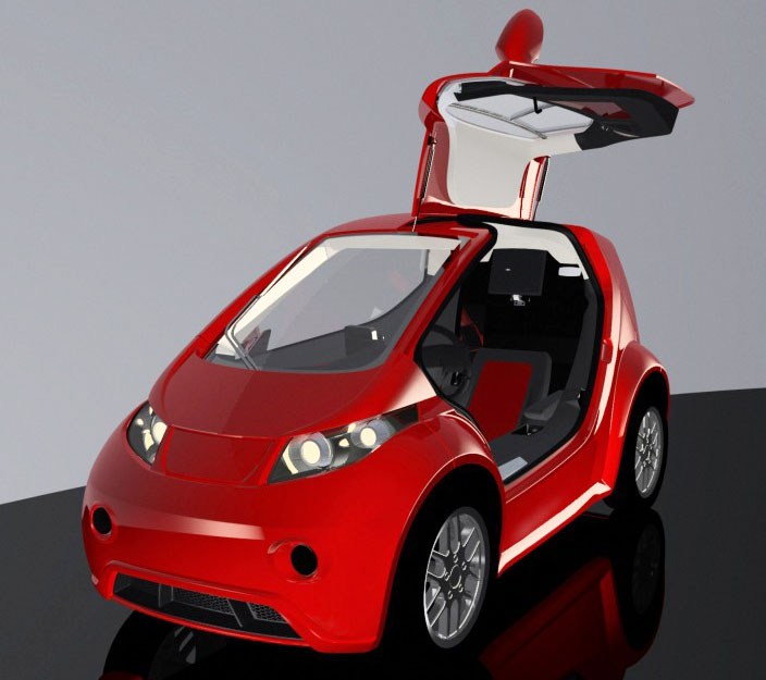 Colibri Electric Car