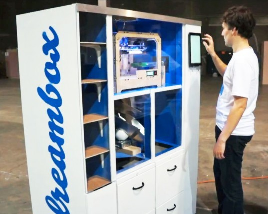 green design, eco design, sustainable design, UC Berkeley, 3d printing, 3d printed vending machine, Dreambox