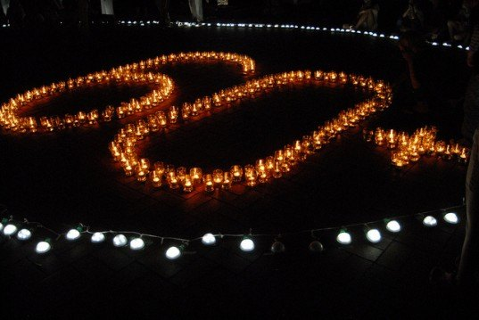 Earth Hour, Berlin, WWF, climate change, conservation, energy, global action, solidarity, global warming, UN,