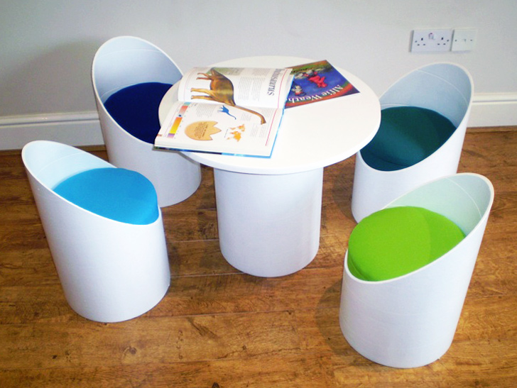 Eco Seatz Makes Colorful Chairs From Heavy Duty Recycled