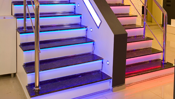 Elemental Led U2013 Arch Stair Light « Inhabitat U2013 Green Design, Innovation,  Architecture, Green Building