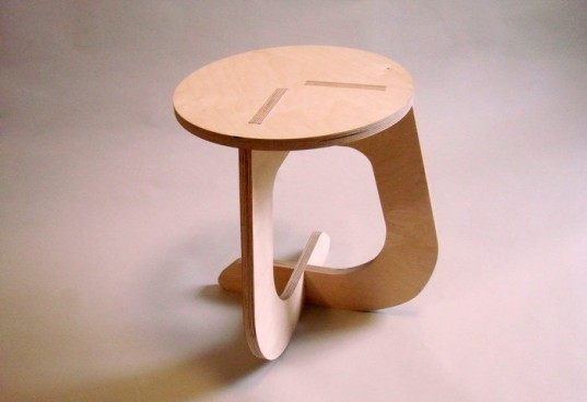 fabsie stool, eco furniture, diy furniture, design your own furniture, cnc milling services, make your own furn