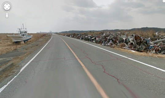 Google Launches Street View of Ghostly Fukushima Exclusion Zone