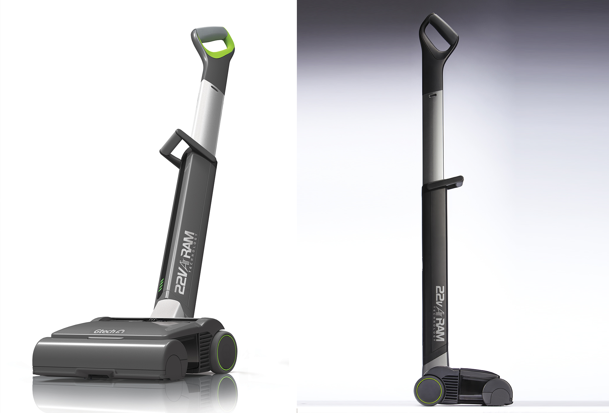 The Airram S High Tech Cleaning Vacuum Tracks Its Energy