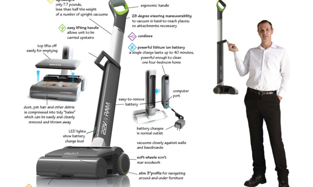 The Airram 39 S High Tech Cleaning System Tracks Its Energy