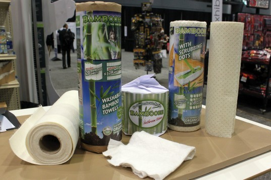 housewares show, 2013, chicago, home, eco, green, sustainable, towel, toilet paper, reusable, bamboo, renewable