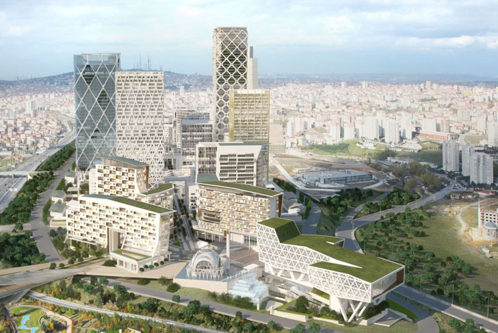 Hok Breaks Ground On Eco Friendly Master Plan For Istanbul