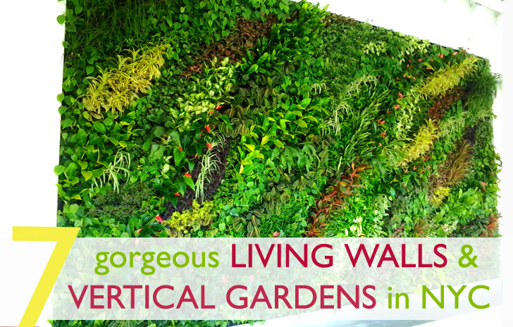 7 Vibrant Vertical Gardens and Gorgeous Green Walls