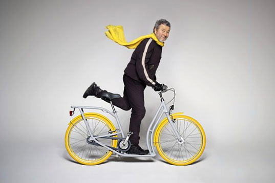 Philippe Starck, Bordeaux, bike, scooter, Peugeot