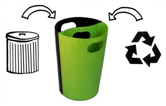 solecan, green design, sustainable design, recycling bin, trash can, recycled materials, recycled plastic, green products, sustainable interiors, recycling initiatives