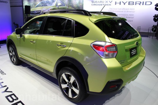 subaru xv crosstrek hybrid unveiled at the 2013 new york auto show inhabitat green design. Black Bedroom Furniture Sets. Home Design Ideas