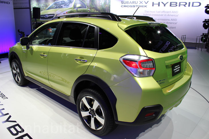 subaru xv crosstrek hybrid inhabitat green design innovation architecture green building. Black Bedroom Furniture Sets. Home Design Ideas