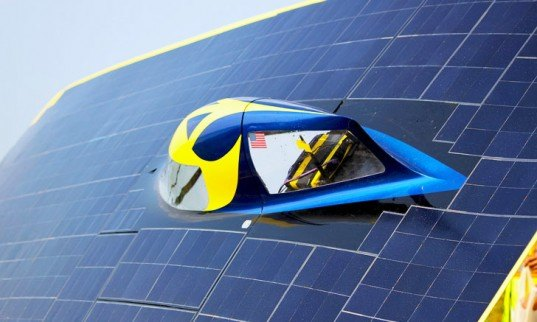 green design, eco design, sustainable design, University of Michigan, World Solar Challenge, Generation, solar car, Continuum, Infinium, Quantum, solar car, Darwin, Australia
