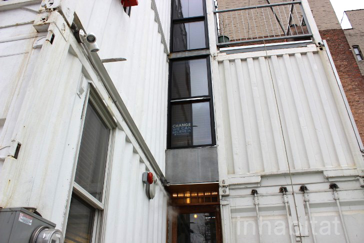 PHOTOS: Couple Moves into Stacked Shipping Container Home in Williamsburg, Brooklyn