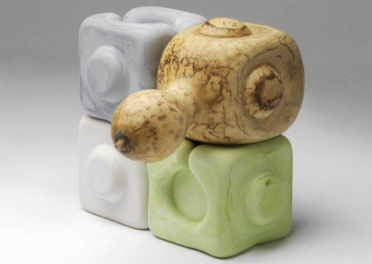Andrew Mowbray, modular gourds, gourds, moulded gourd, green building materials