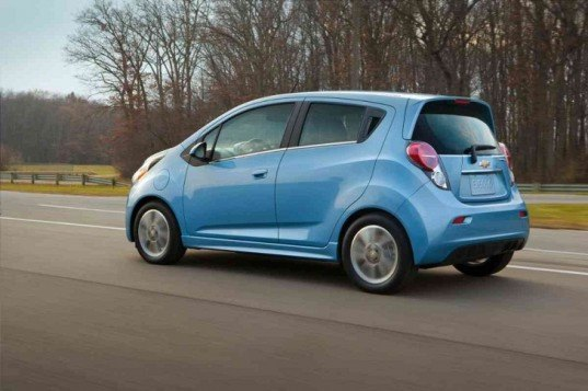Chevy, Chevy Spark, Chevy Spark EV, General Motors, electric motor, lithium-ion battery, green car, electric car, EPA