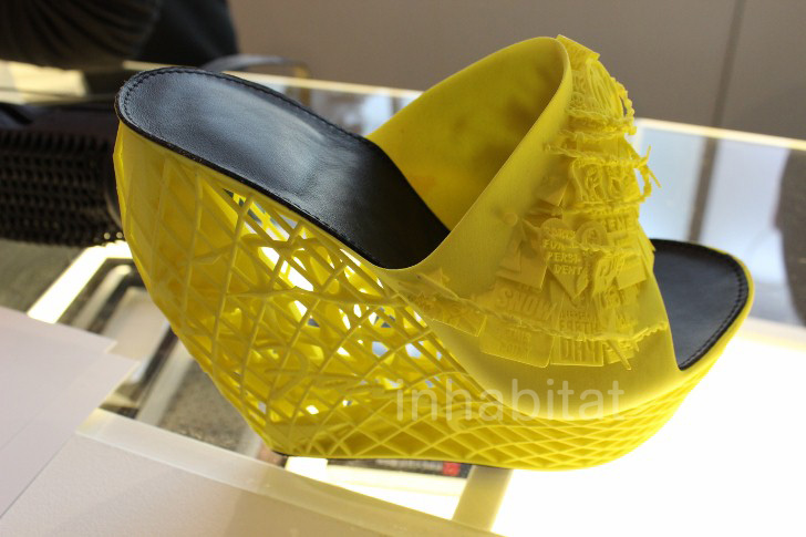 D Printer Exhibition New York : D printed shoes « inhabitat green design innovation